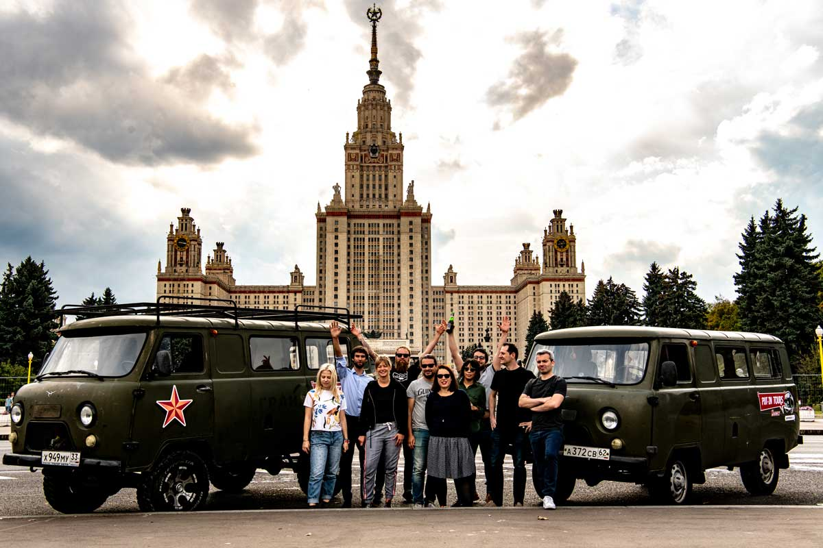 Put-in tours Moscow must see