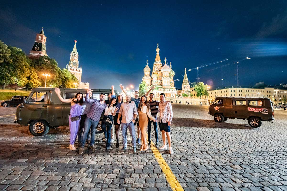 Putintours Moscow by night tour