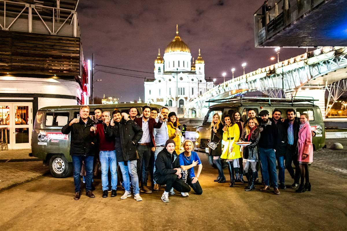 Pubcrawl Moscow Put-in tours