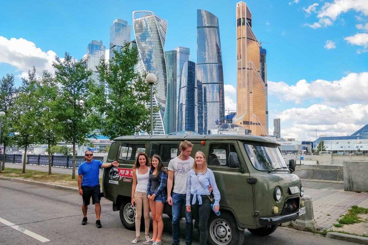 Putintours Soviet vans Russia