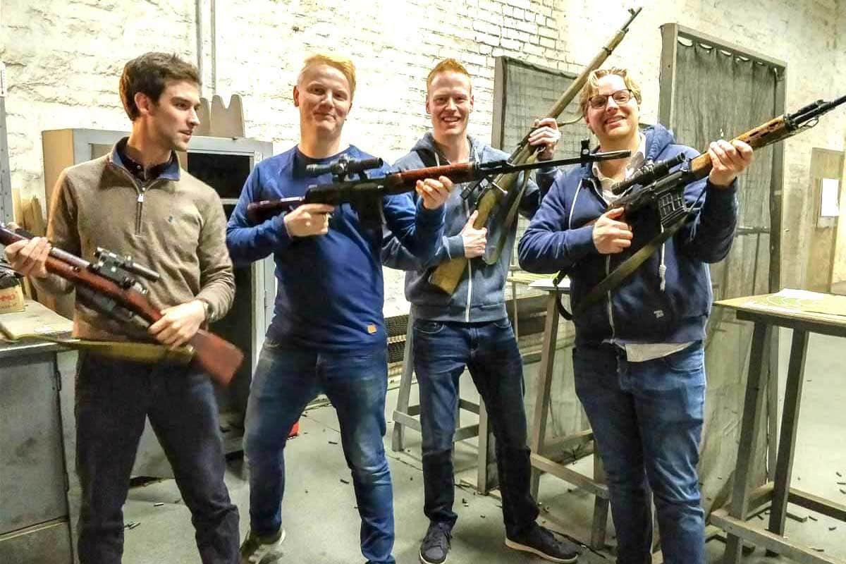 Shoot guns AK47, sniper Dragunov or Mosin and Makarov or Yarigyn in Moscow Putintours