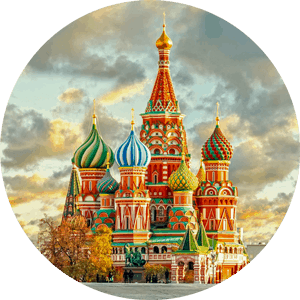 Put-in tours Moscow Saint basil's cathedral