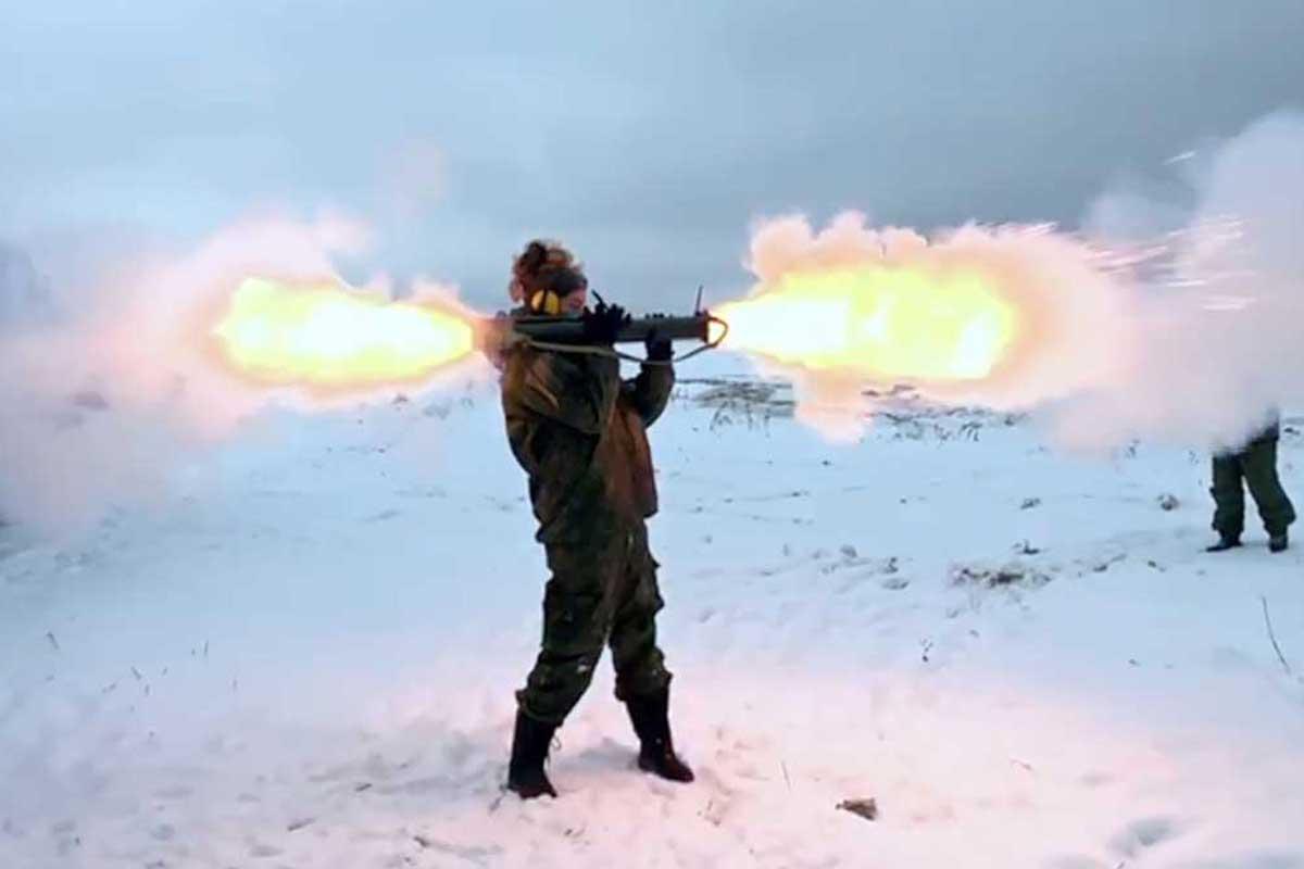 Shooting bazooka Moscow Putintours