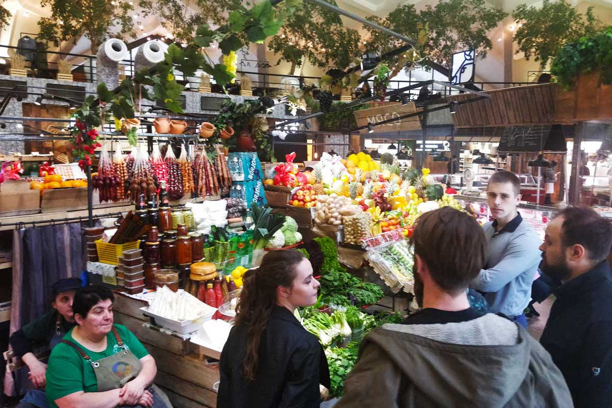 Moscow food and Russian gastronomy tour Put-in tours