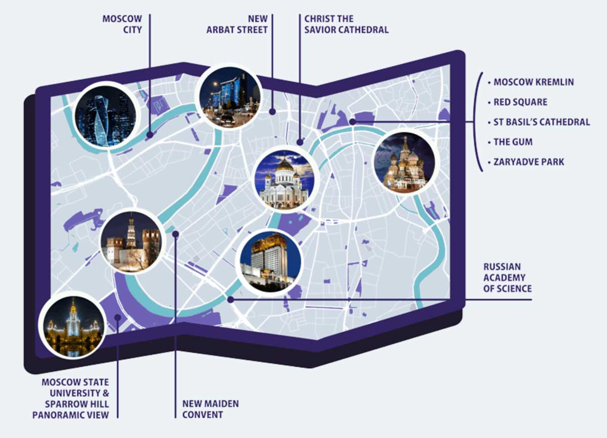 Put in tours city tour moscow map