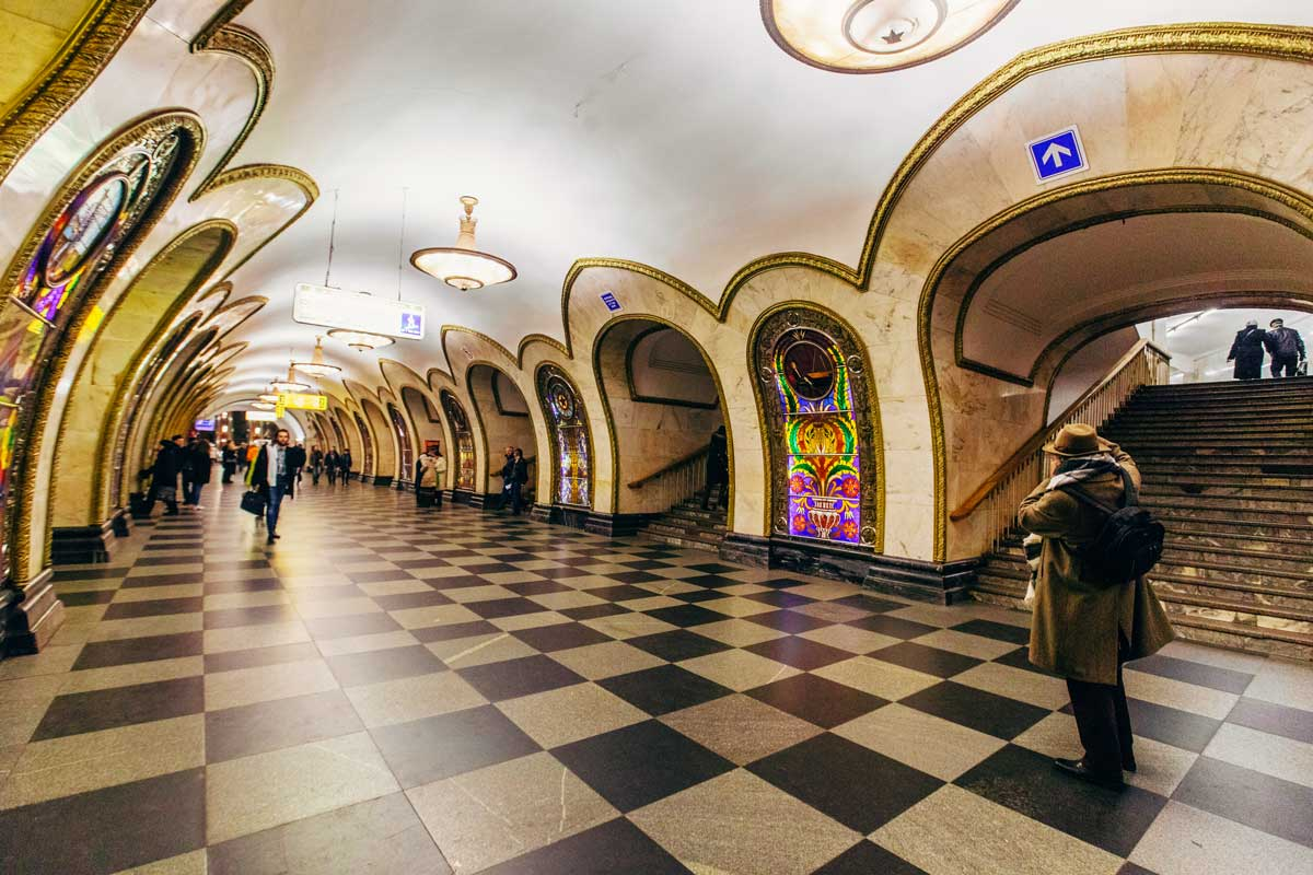 Metro tour Moscow Put-in tours