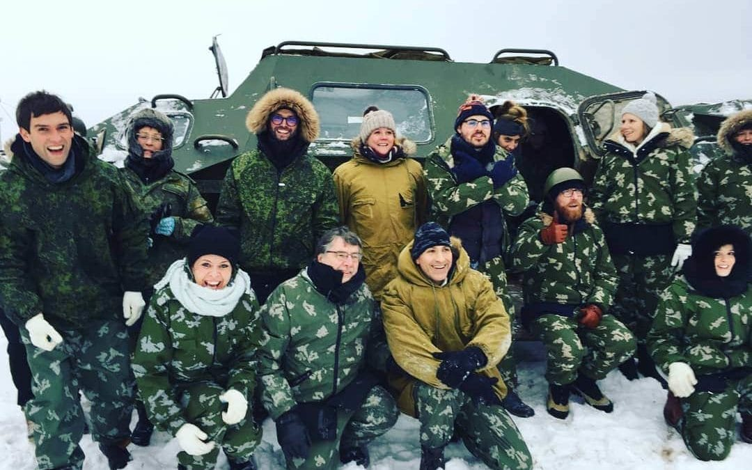 Team building in Moscow