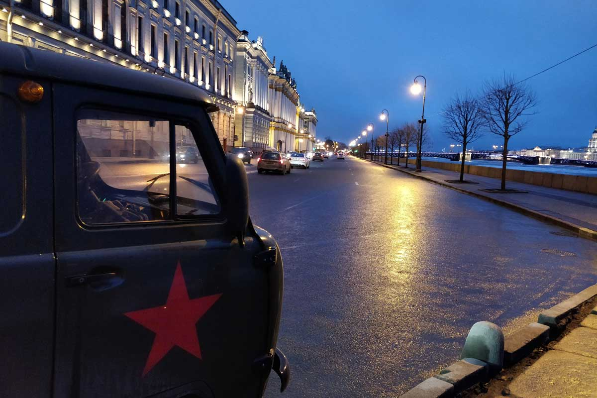 Put-in tours City tour Saint Petersburg